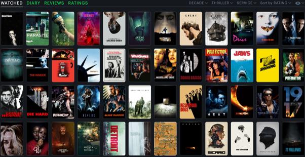 Member's films